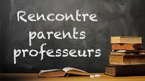 Réunion des Parents à planifier