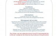Covid-19 : Conditions pour l'accès à la mosquée